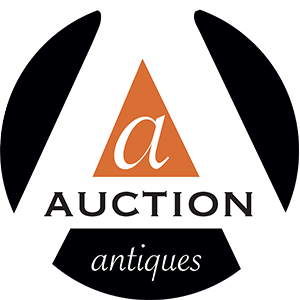 auction antiques logo