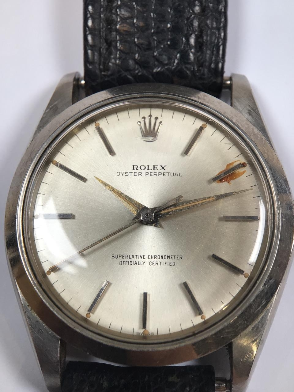 Rolex on a roll